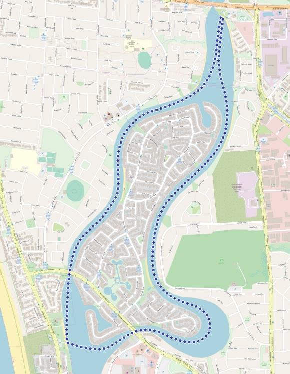 Paddle SA - West Lakes Map