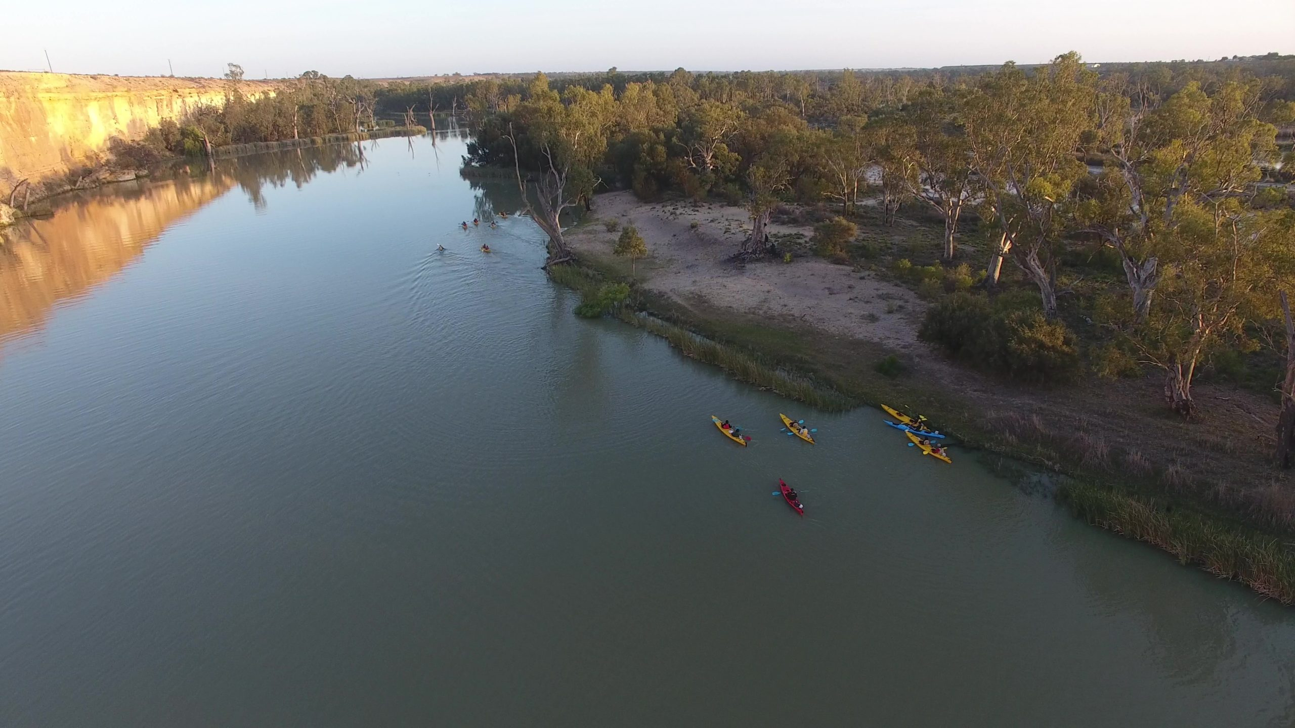 Team Paddle Challenge 2019 drone photo